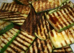 Rosemary Grilled Zucchini & Eggplant