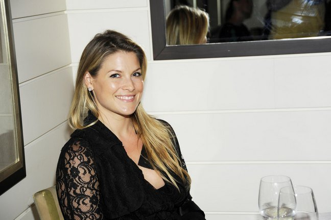 Ali Larter Black Lace dress