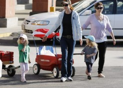 Marcia Cross Out And About With Her Daughters