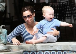 Minnie Driver Says Henry Never Stops Talking