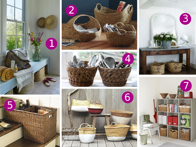 Decorating With Baskets