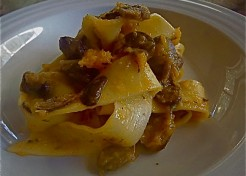 Pappardelle Pasta with Butternut Squash-Mushroom Sauce