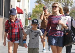 Reese Witherspoon Enjoys A Busy Weekend With Her Kids