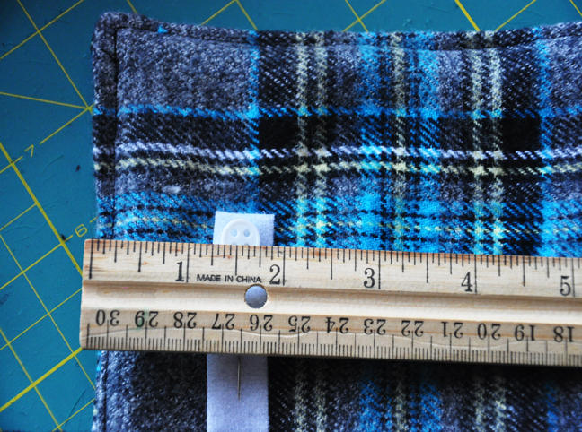 DIY: Boys Cozy Flannel Scarf