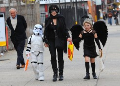 Celebrity Parents Get Into The Halloween Spirit With Their Kids
