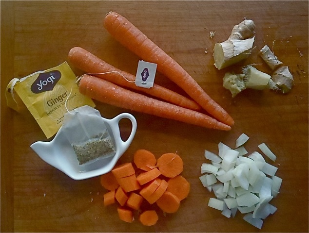 GINGER TEA SOUP INGREDIENTS