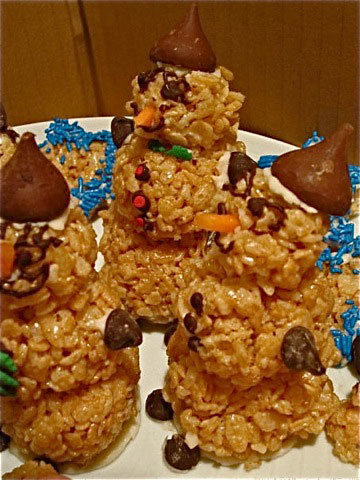 Rice Crispy Holiday Treats2