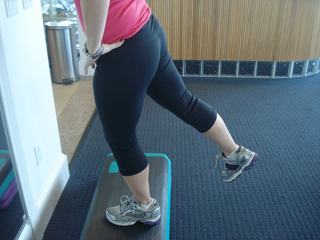 Rear Lunge step up-Part 2