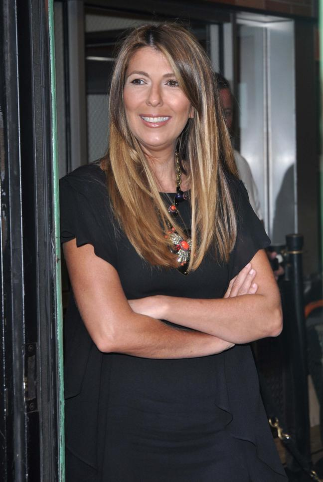 Nina Garcia in black top