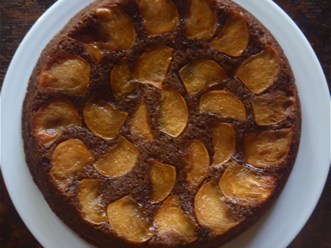 Persimmon Upside Down Spice Cake3