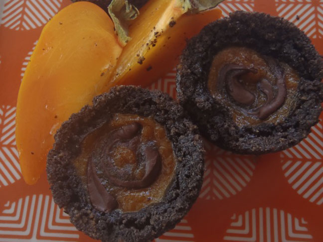 Chocolate Persimmon Tart1