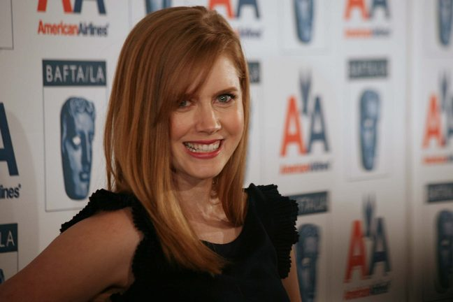 Amy Adams, black dress, black sleeveless dress