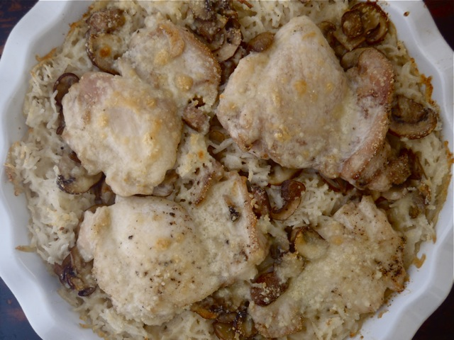 Cream of Mushroom Chicken and Rice4