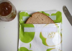 DIY Reusable Sandwich Bag