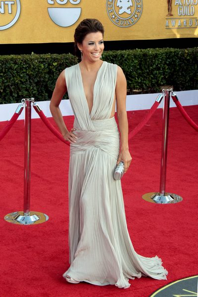 Eva Longoria sag awards dress