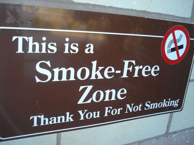 Revisiting New Year's Resolutions- No smoking