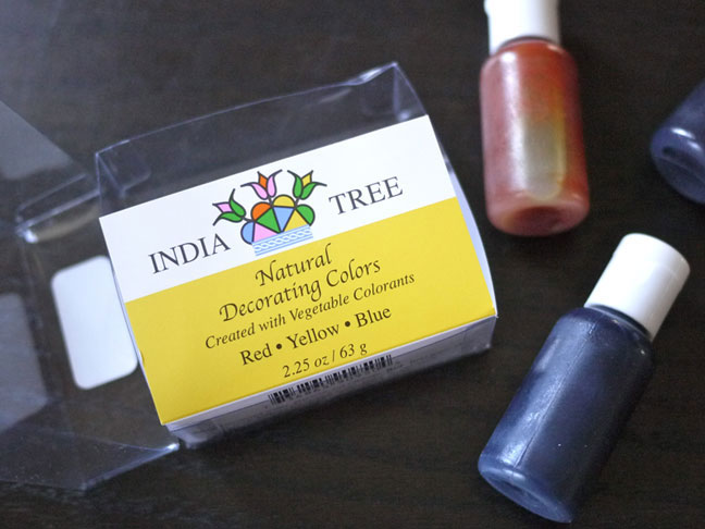 Color Your Own Decorating Sugar-India Tree