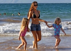 Denise Richards Tries To Explain Addiction To Her Daughters