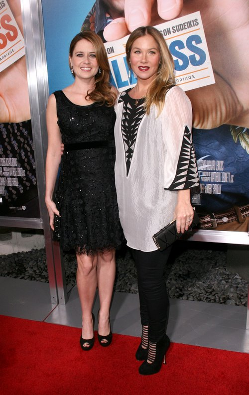 Christina Applegate and Jenna Fischer attend premiere of Hall Pass
