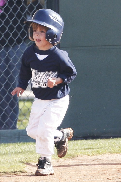 Sean Preston Federline, baseball uniform