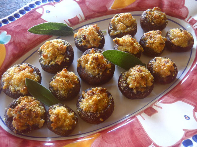 Stuffed Mushrooms-1