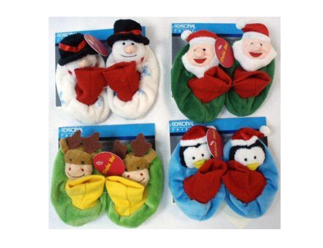 Holiday Rattle Baby Slippers Recalled