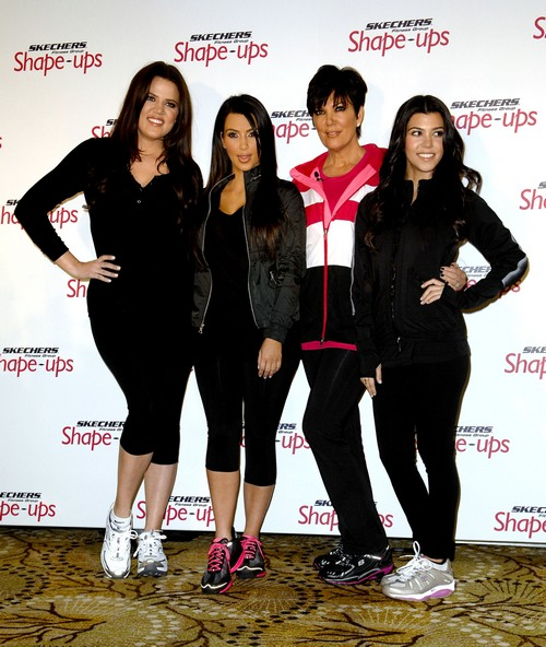 Kardashian, exercise gear, althetic wear