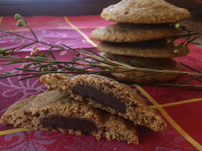 Espresso Dove Chocolate Cookies