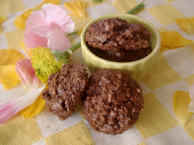 Chocolate Coconut Macarrons-1
