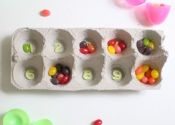 Crafts with Kids: Easter Egg Counting Game