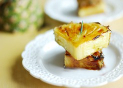 Broiled Caramelized Pineapple Dessert