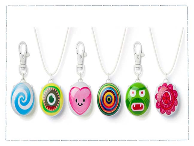 TALKTOME talkatoo keychains and necklaces