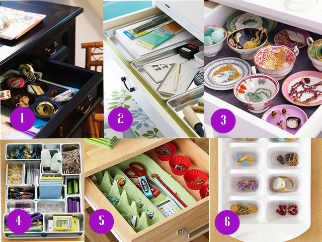 Organize Your Desk Drawer Pick A Style
