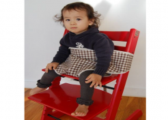 Handmade Portable Highchair Made in Brooklyn