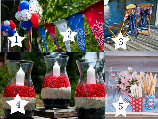 quick decorating ideas for the fourth of july