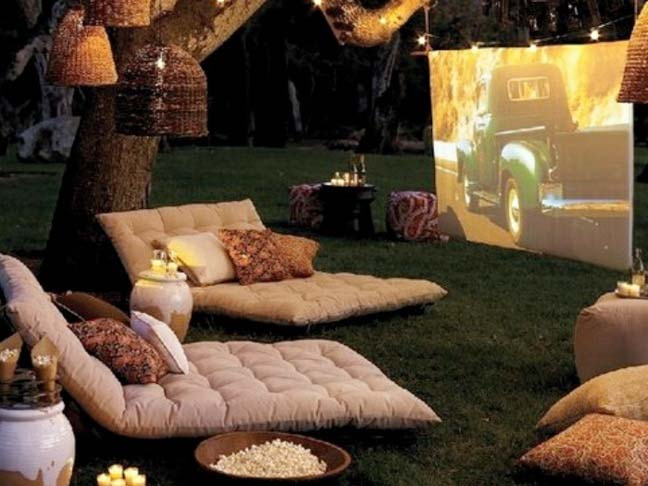 - Summer DIY: Build A Backyard Theater