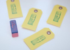 DIY: Hand Carved Eraser Stamps