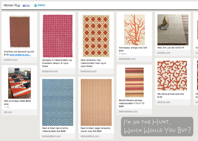 Pins of rugs on Pinterest