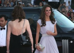 Celebrities Turn Out To Meet The Duke And Duchess Of Cambridge At A BAFTA Gala