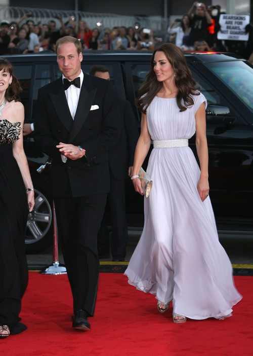 Celebrities Turn Out To Meet The Duke And Duchess Of Cambridge At ...