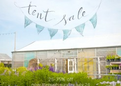 Terrain Summer Tent Sale Now Through July 24!