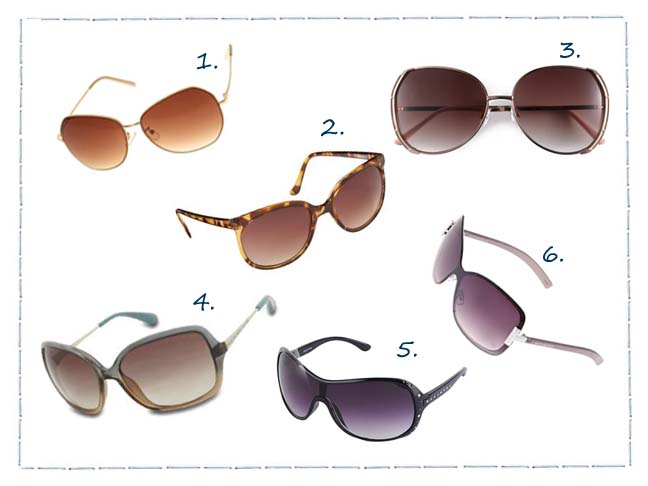 Cheap and Chic Sunglasses For Every Face Shape