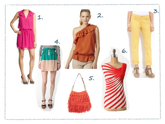 Dress In The Colors Of The Season
