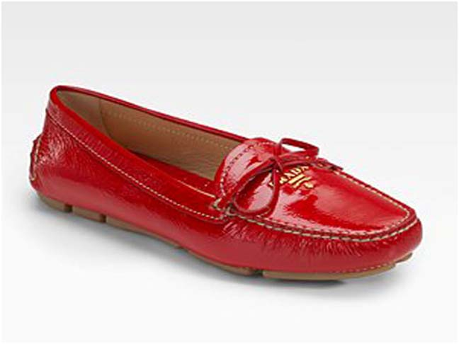 Fall Must Have: Red Flats