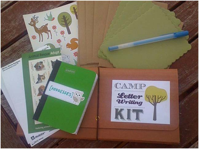 diy letter writing kits