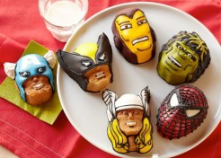 Turn Your Favorite Marvel Superheroes into Cupcakes