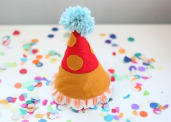DIY Felt Party Hat