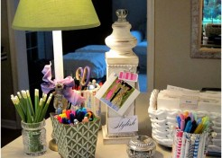 Multi-Purpose DIY: Door stop or Desk Message Post
