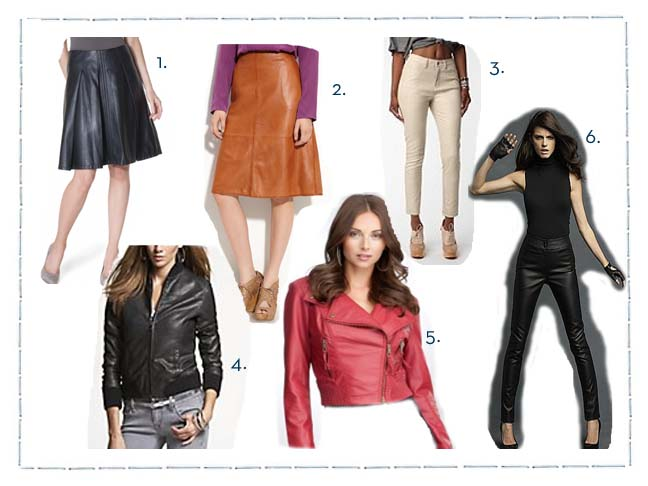 Leather-It's What's In Season!