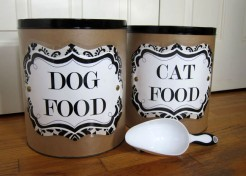 Catalog Knock Off: Pet Food Containers